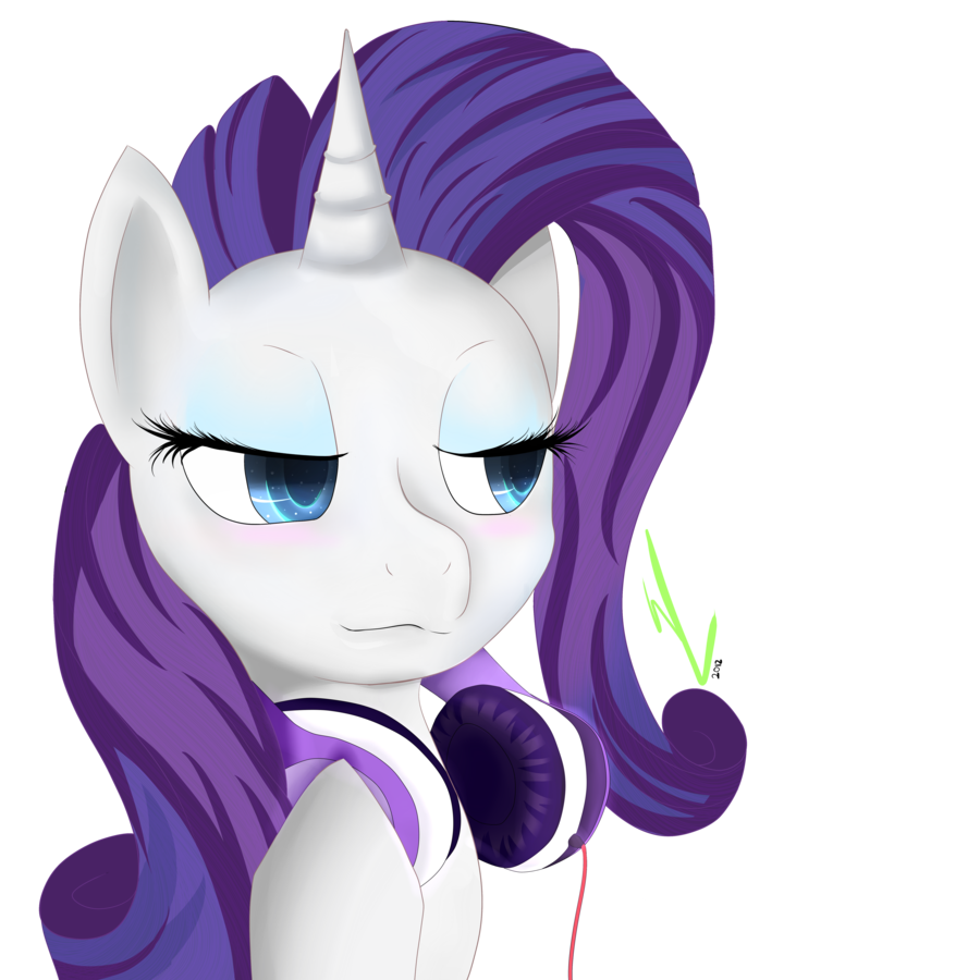 Rarity S Headphones By Winterrrr On Deviantart Rarity My Little Pony Anime