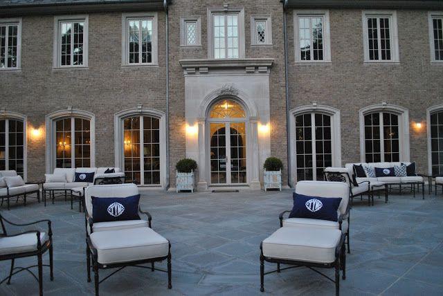 Brick, window shape, limestone casing. via: The Enchanted Home: Late week musings and a winner!