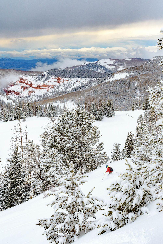 Utah S Highest Resort Town Brian Head Cedar City Utah Utah Skiing Utah Ski Resorts