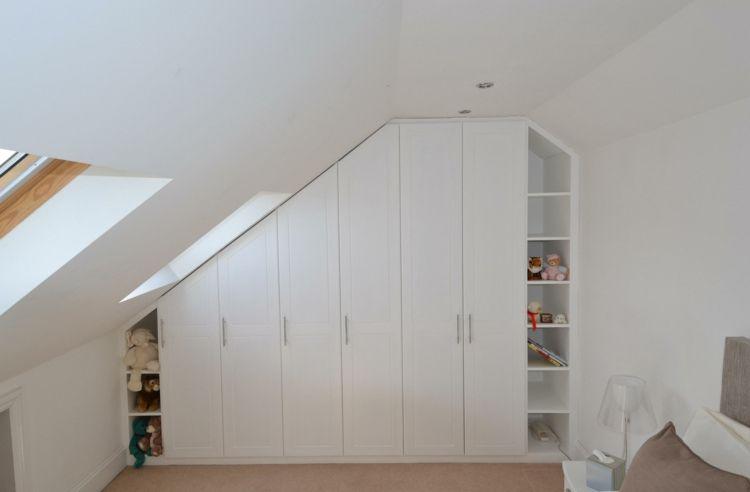Einbauschrank Bei Dachschrage 36 Praktische Design Ideen Mobel