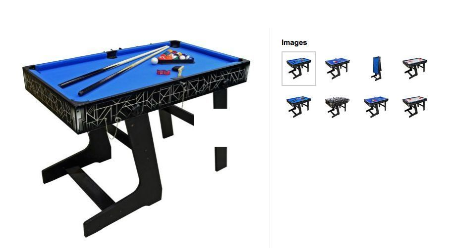 Merveilleux Hy Pro 4 In 1 Games Table **RRP £199*
