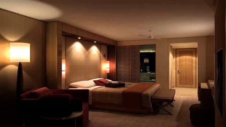 lamparas modernas acentos paredes