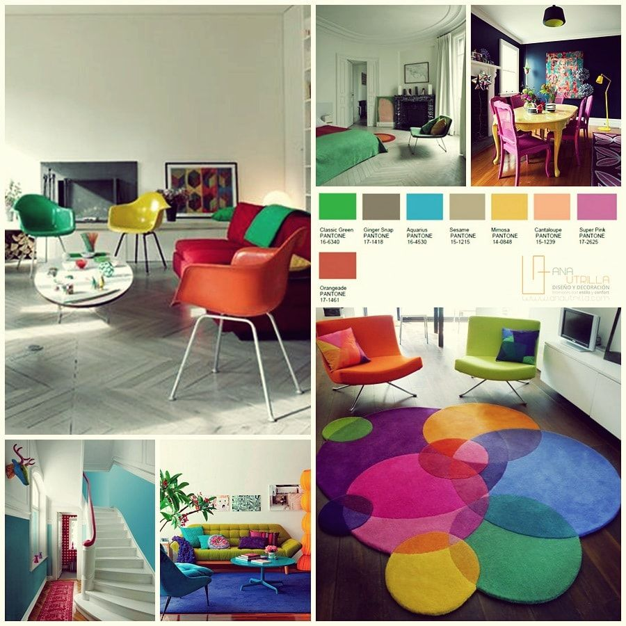 Dise o de interiores colores de moda for Diseno de interiores 2016