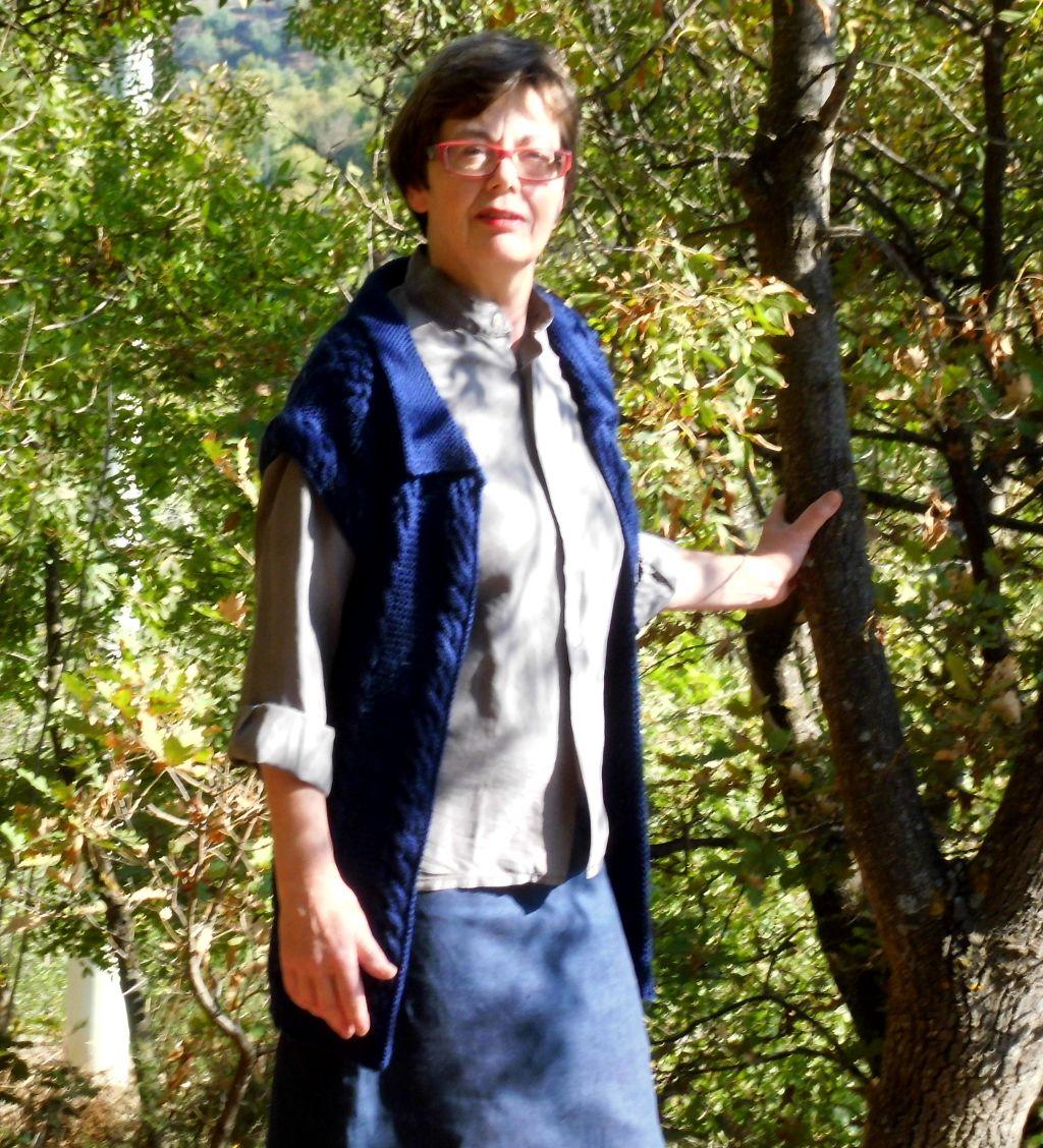 Caltanissetta beautiful and functionel woollen waistcoat on sale