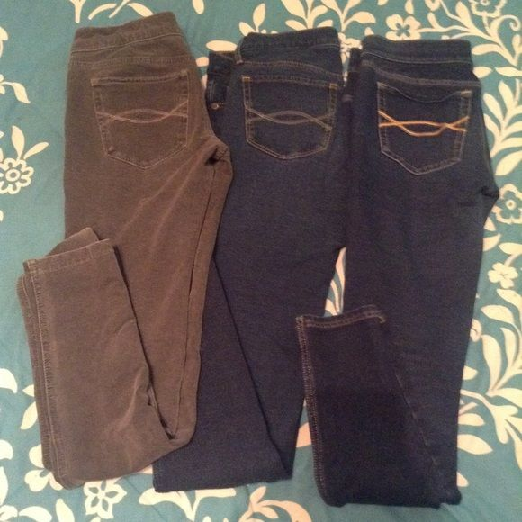 Abercrombie & Fitch Jeggings 0R. Great Condition! Abercrombie & Fitch Jeans Skinny