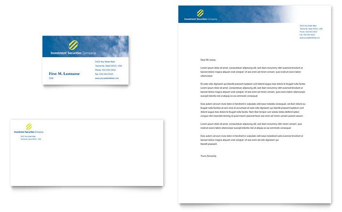 Free Letterhead Templates For Word Click To Download A Fullsize Preview Pdf  Financial Flyers .
