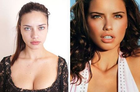 Adriana Lima Is Gorgeous Before And After