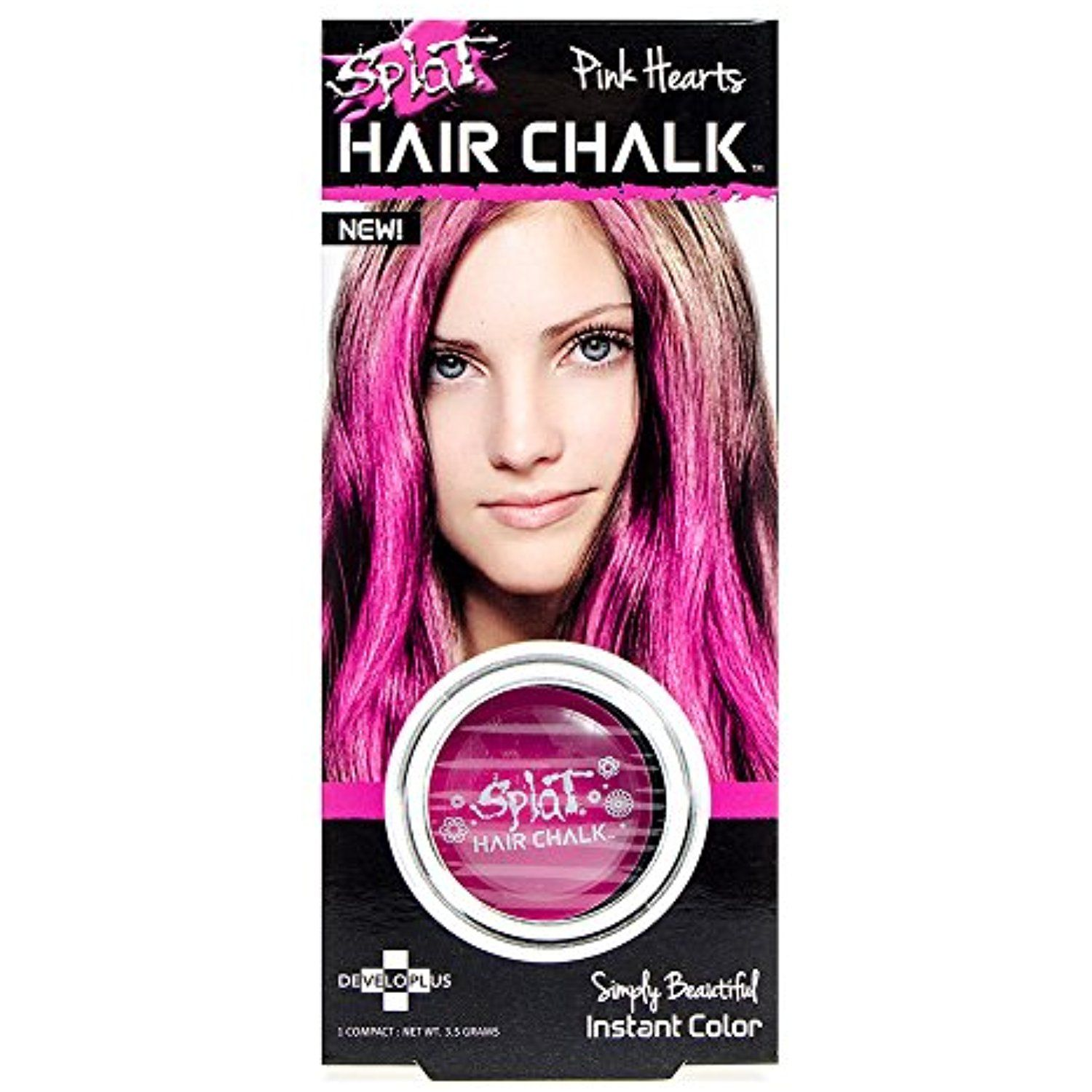 Splat Hair Chalk Pink Hearts You Can Get More Details By Clicking On The Image This Is An Affiliate Link And I Receive A Commission For The Volosy Melki
