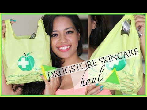 Indian Drugstore/Pharmacy Skincare Haul | Debasree Banerjee