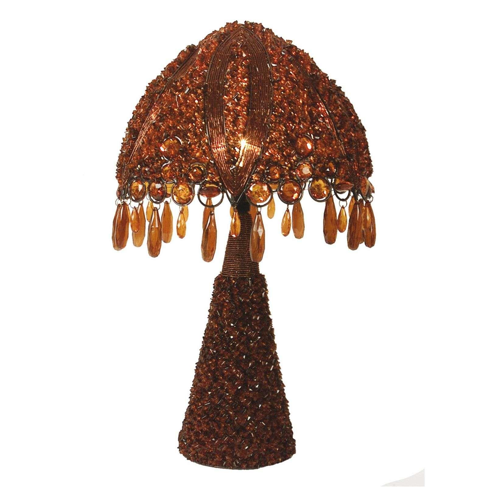 Lampe A Poser Perla 53 Cm Tischleuchte Lampentisch Led Tischlampe