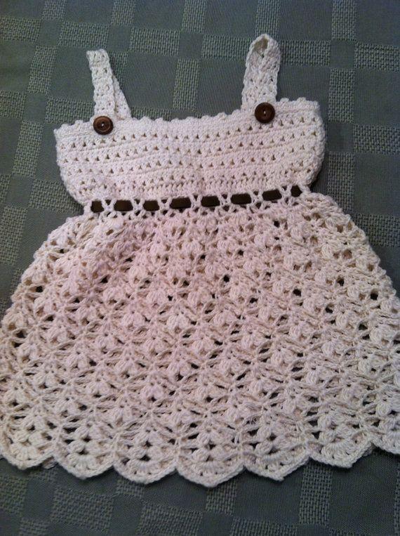 Sundress for Baby Girl, Crochet Pattern PDF 12-027 INSTANT DOWNLOAD ...