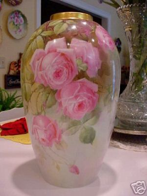 LIMOGES VASE - would also love, love, love to have this....just so beautiful