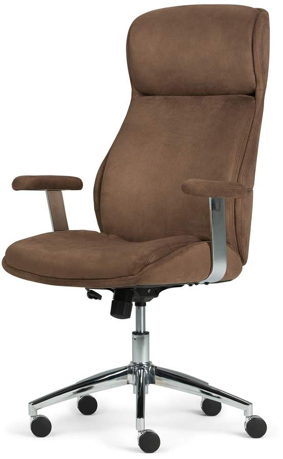 Simpli Home Melbourne Swivel Office Chair Office Chair Swivel