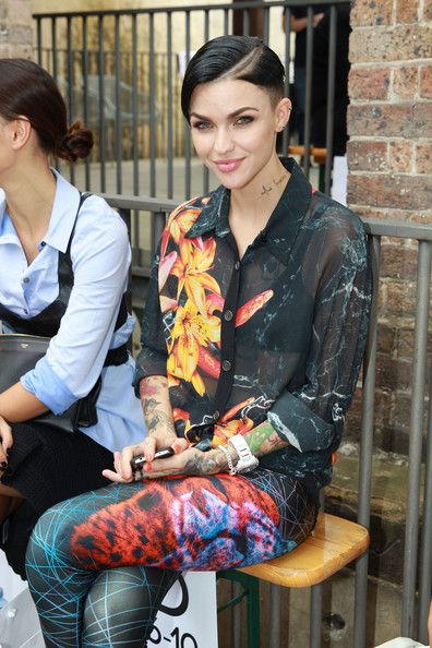 Ruby Rose Photos - Arrivals at the We Are Handsome Show - Zimbio