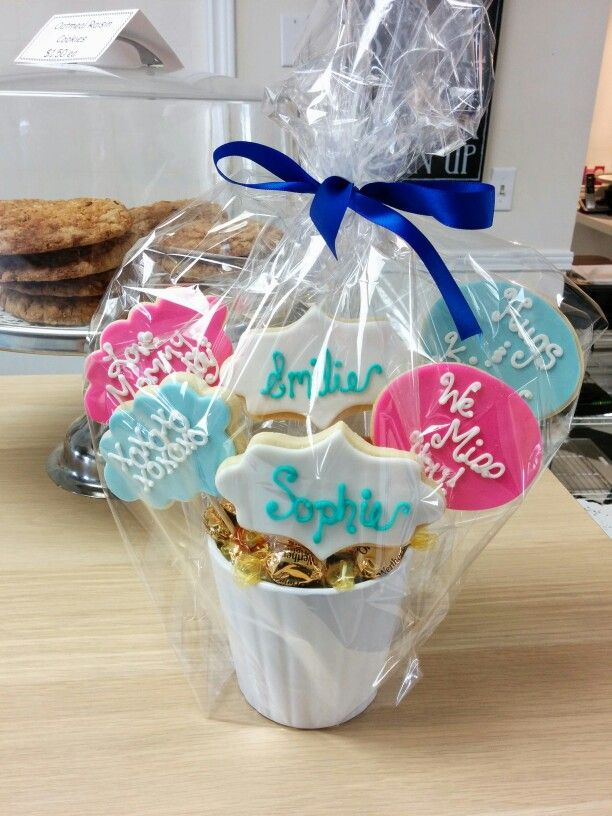 Small Cookie Bouquet