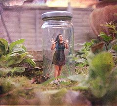 girl trapped in jar photoshop - Google Search | Summer ...