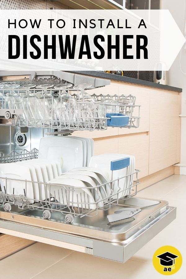 How To Install A Dishwasher Dishwasher Installation Home Repairs Diy Home Repair