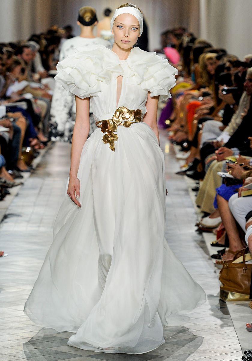 Giambattista Valli Fall 2011 Couture | Gala Dress | Pinterest | Moda ...
