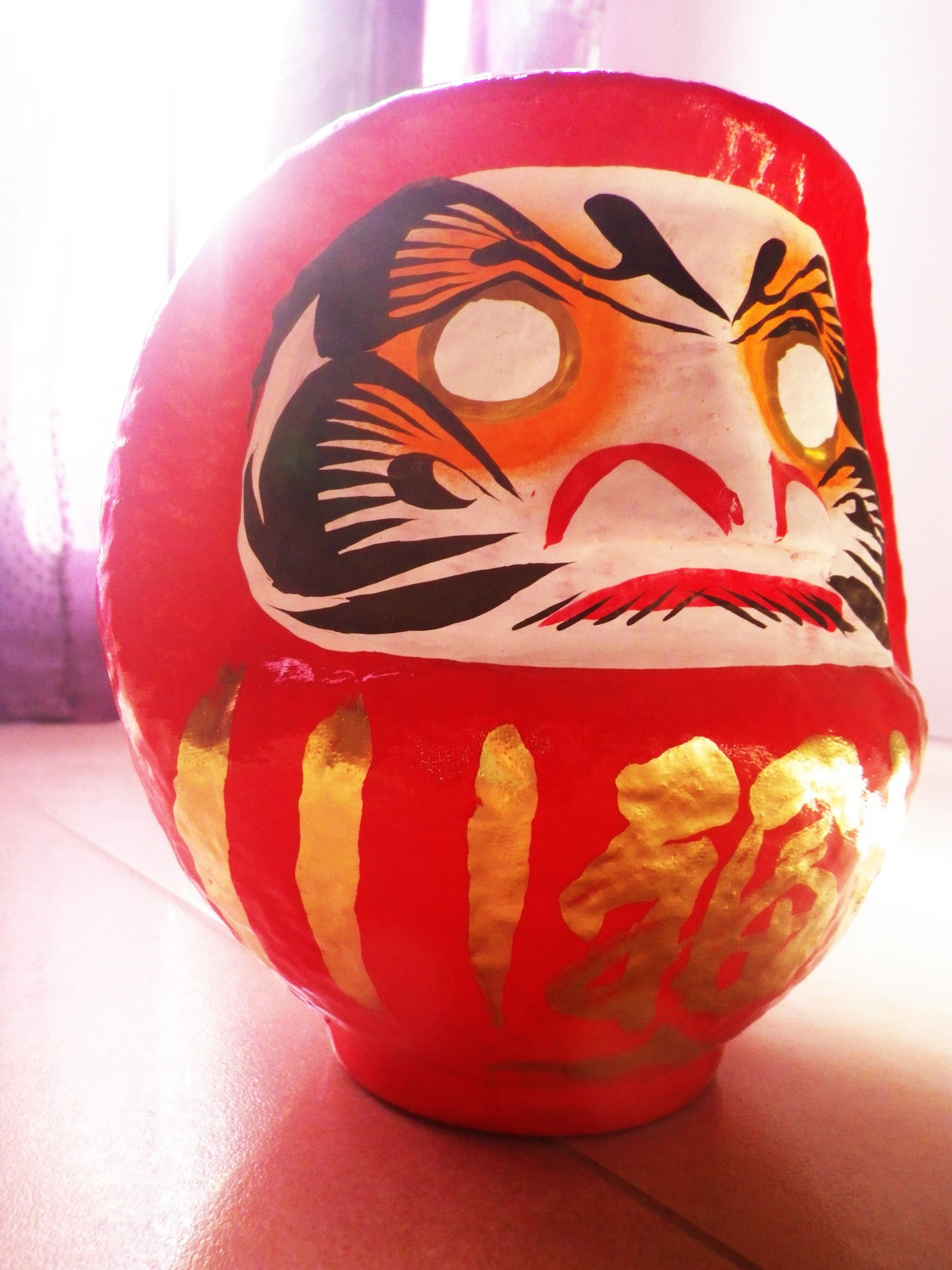 The daruma can be used as a voodoo doll?
