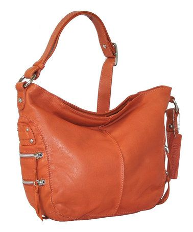 Terracotta California Crossbody Bag By Nino Bossi Handbags