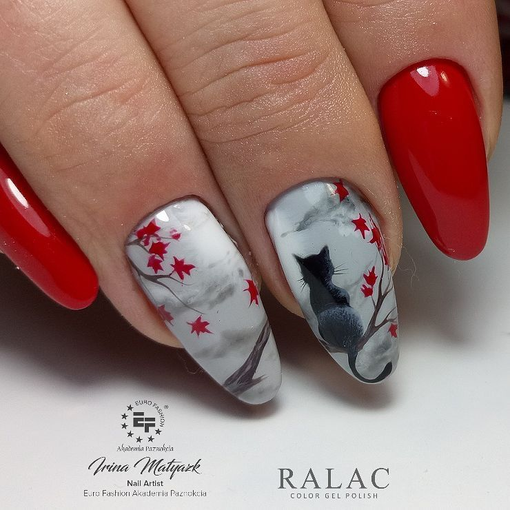 Pin by Наталья Т on МАНИКЮР | Pinterest | Red nails, Manicure and Makeup