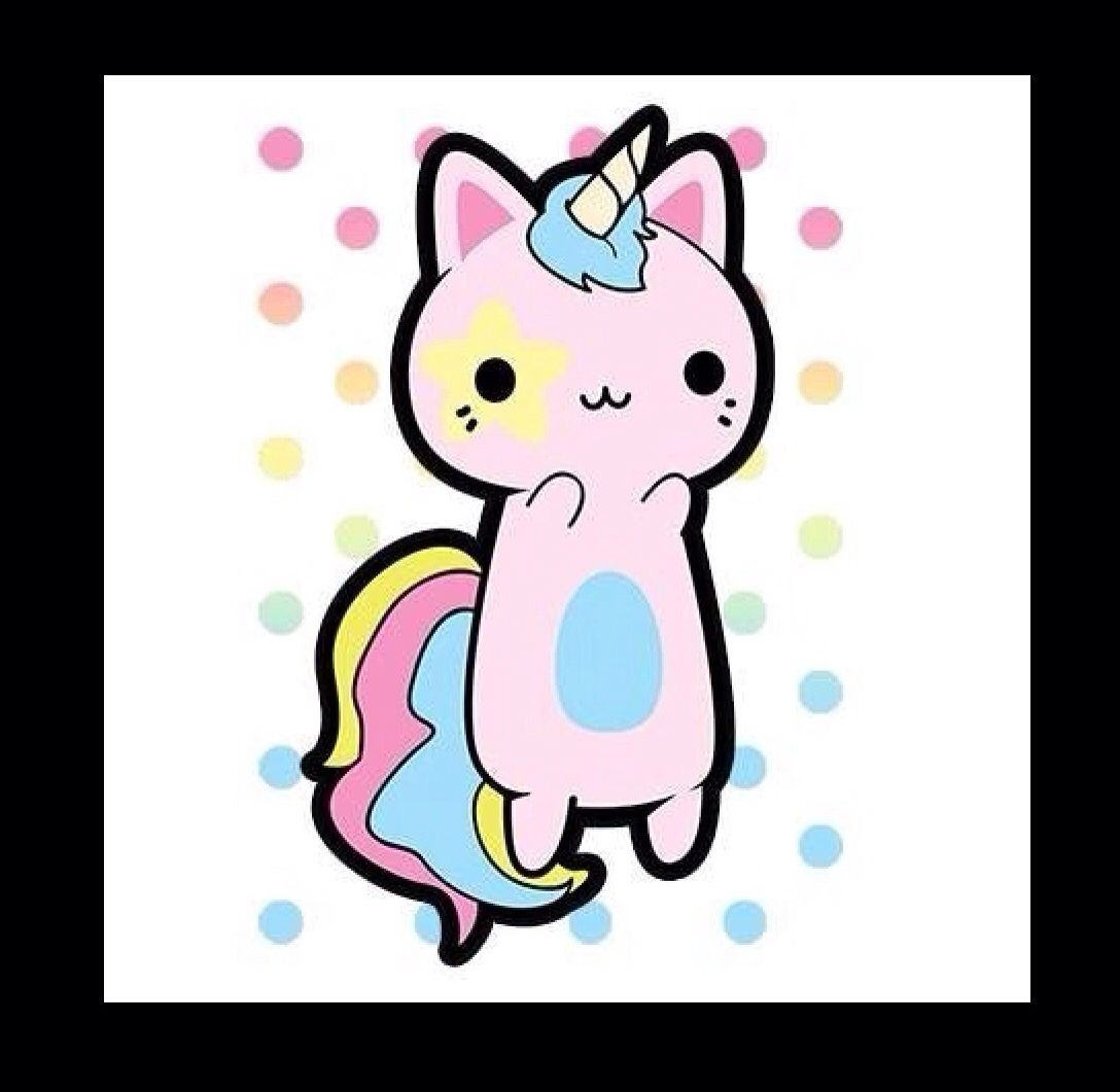 Animals en 2018 pinterest licorne chat licorne et kawaii - Image kawaii a imprimer ...