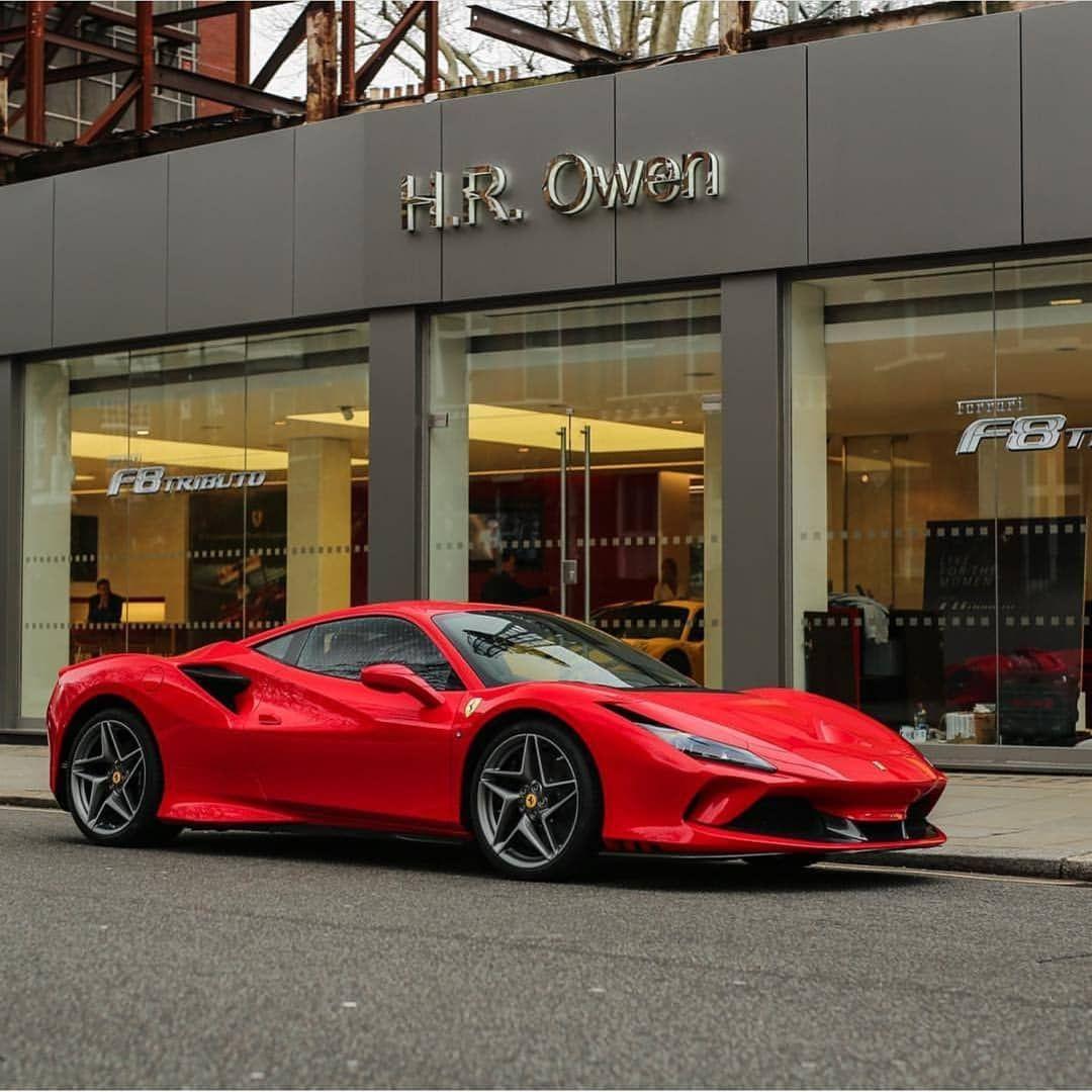 Ferrari F8 Tributo Dark Grey: Red Or Blue On The Ferrari F8 Tributo? First Picture By