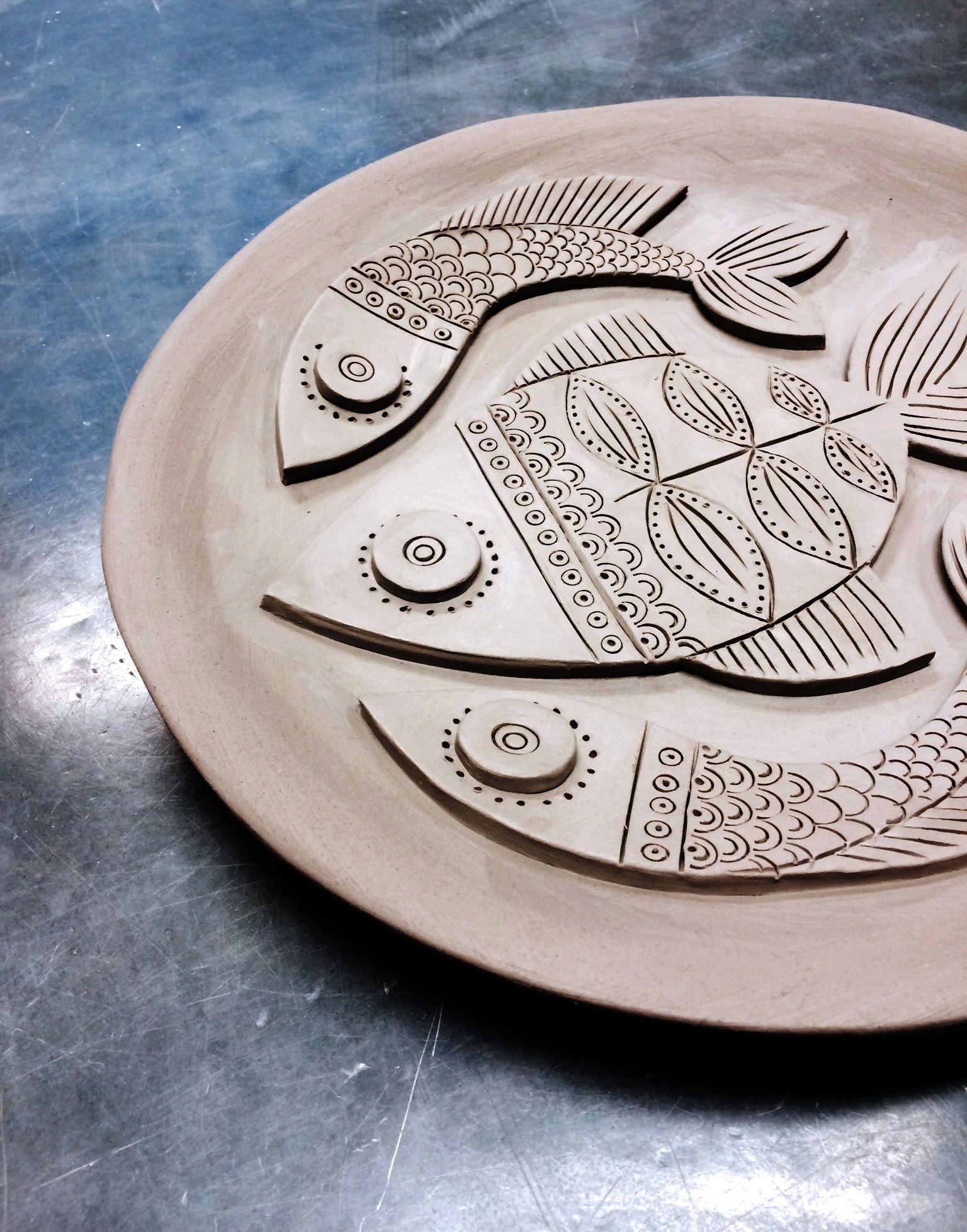 Mr Millys Ceramic Fish Plate More