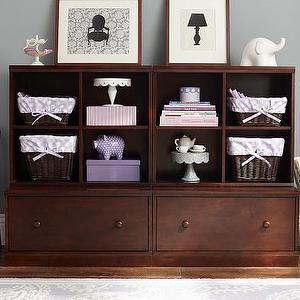 Storage Furniture   2 Drawer Base U0026 2 Cubby System | Pottery Barn Kids    Kids