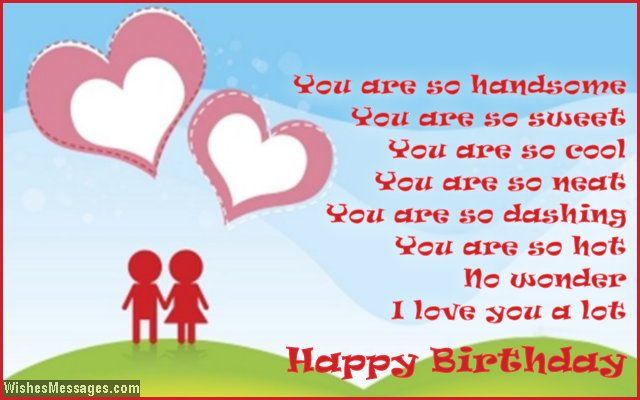 Birthday poems for boyfriend 30th birthday – Happy Birthday Cards for Him