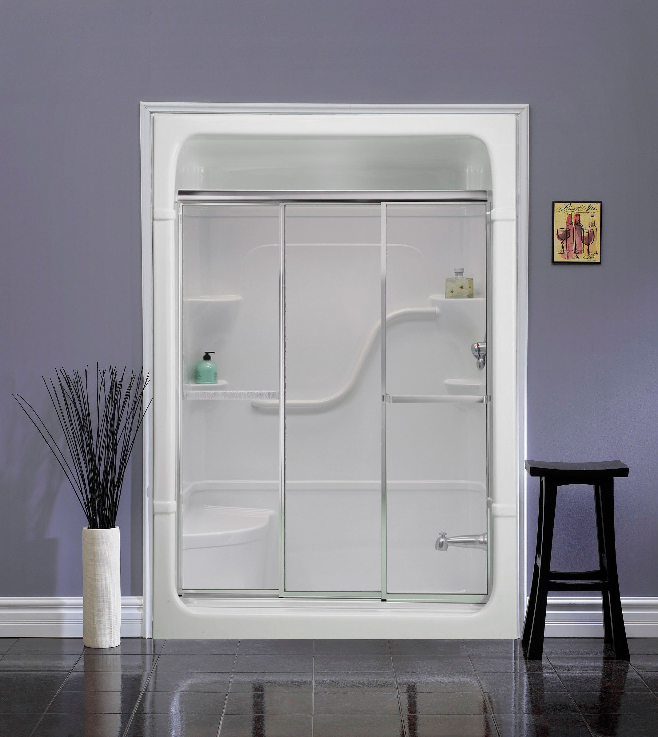 Mirolin 3 Panel Shower Door | http://sourceabl.com | Pinterest ...