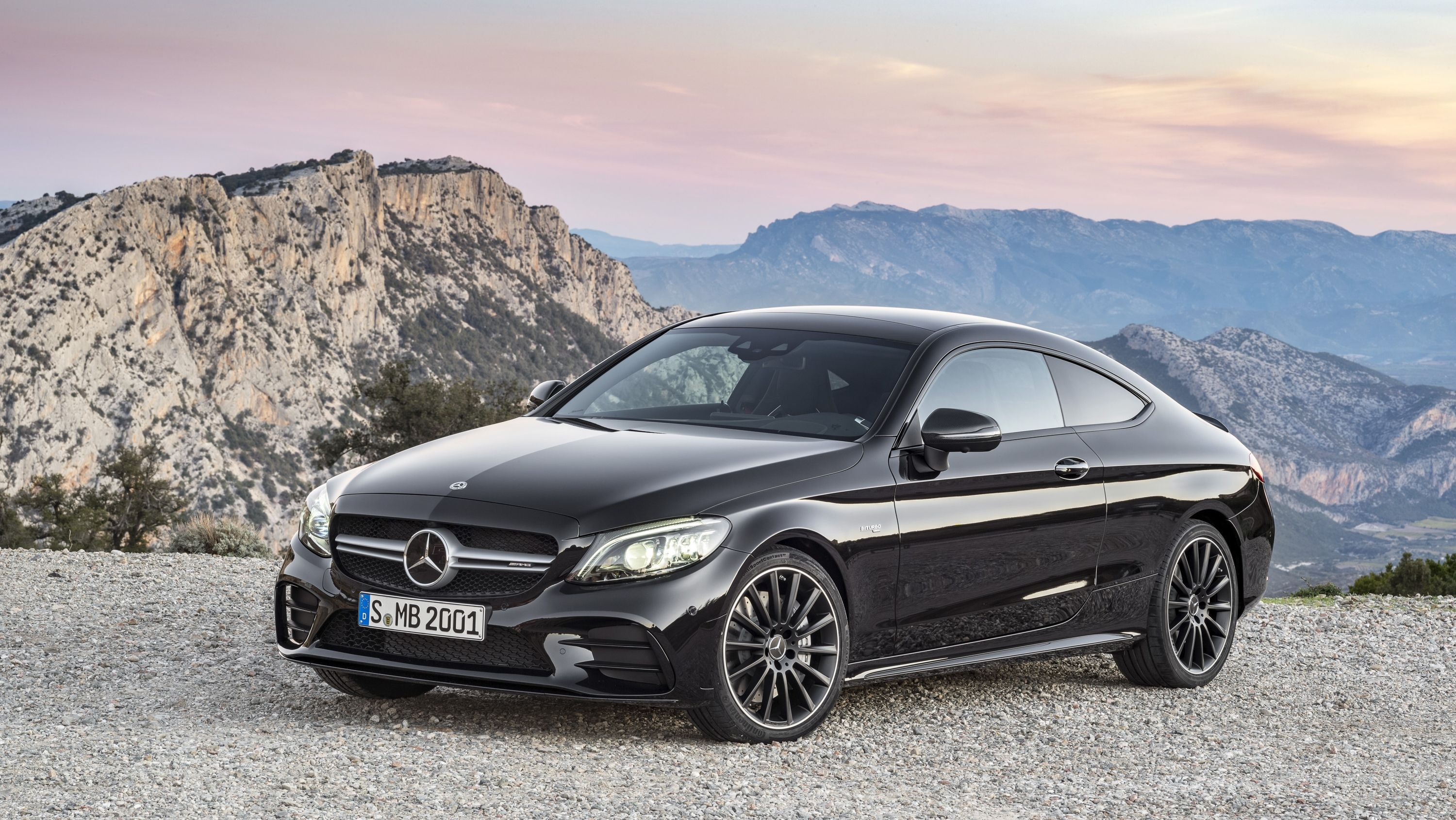 Wallpaper Of The Day 2019 Mercedes Amg C43 Coupe Mercedes C