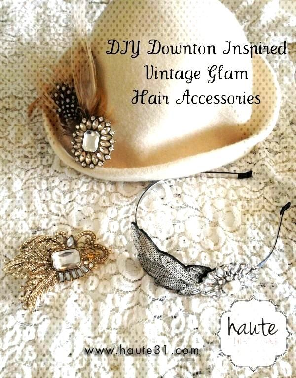 Accessories fashion 10 Downton Abbey Inspired DIY CraftsYou can find Artesanato and...