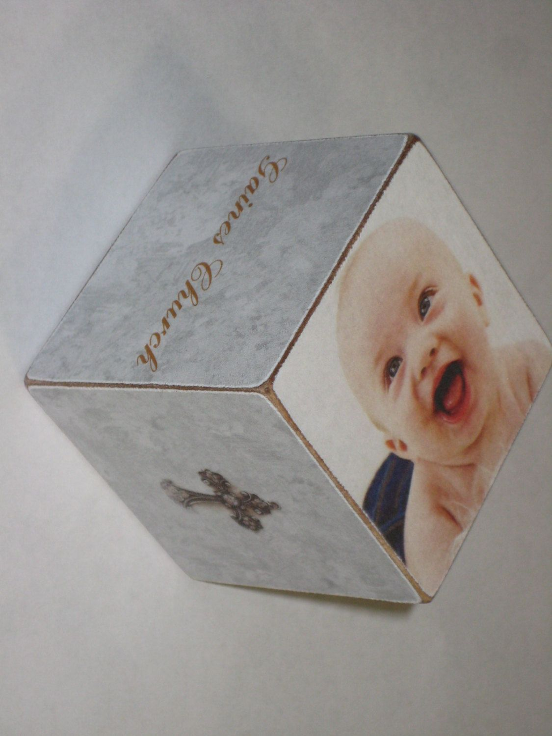 Baby boy christening wooden block personalized wooden block new baby boy christening wooden block personalized wooden block new baby gift hostess gift negle Image collections