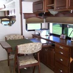 Replacing Rv Dinette Booth Rv Furniture Dinette Desk Units