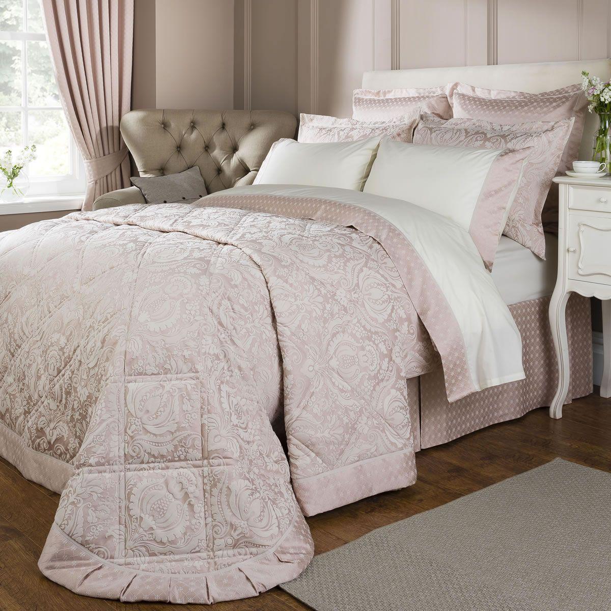 Pink And Cream Bedroom Christy Limoges Rose Pink Justlinen Decor Ideas Bedlinen
