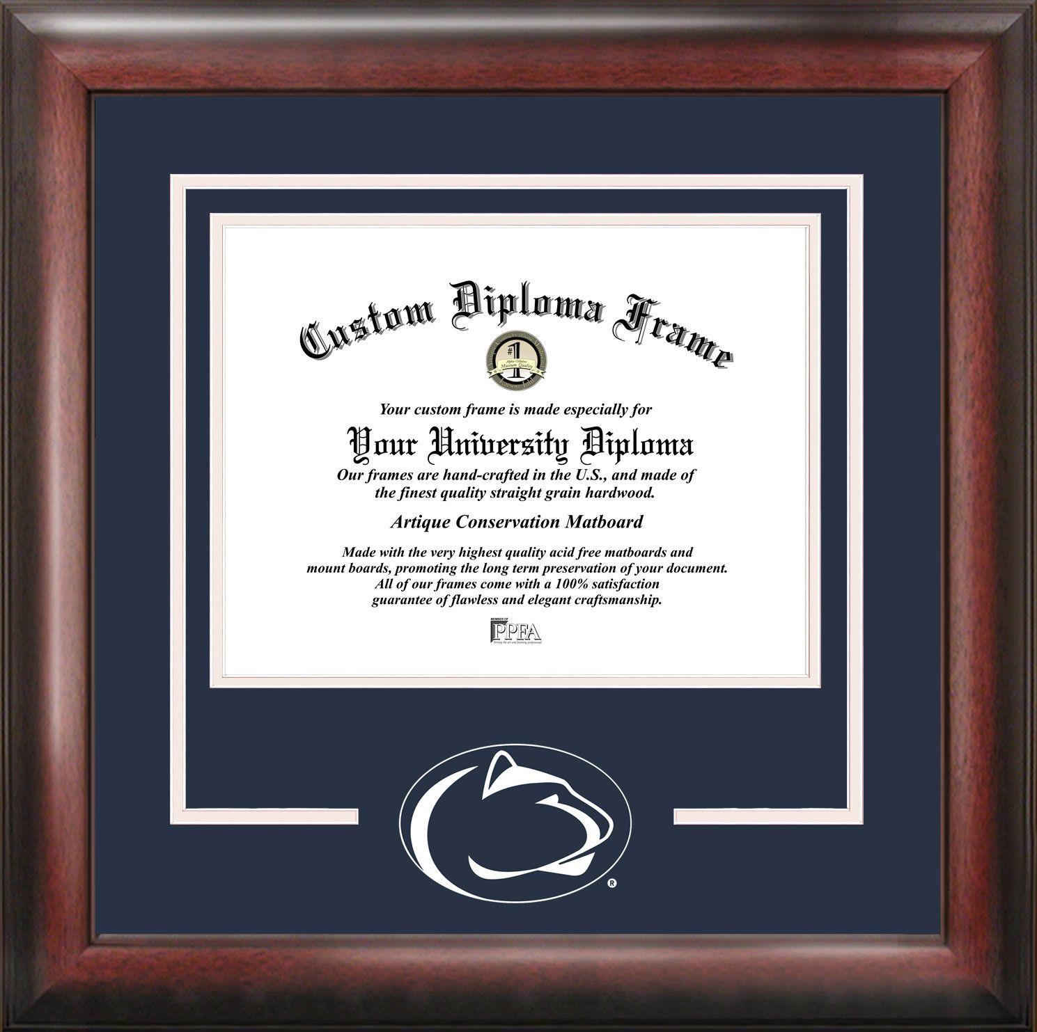 Pennsylvania State University Spirit Diploma Frame | Spirit Diploma ...