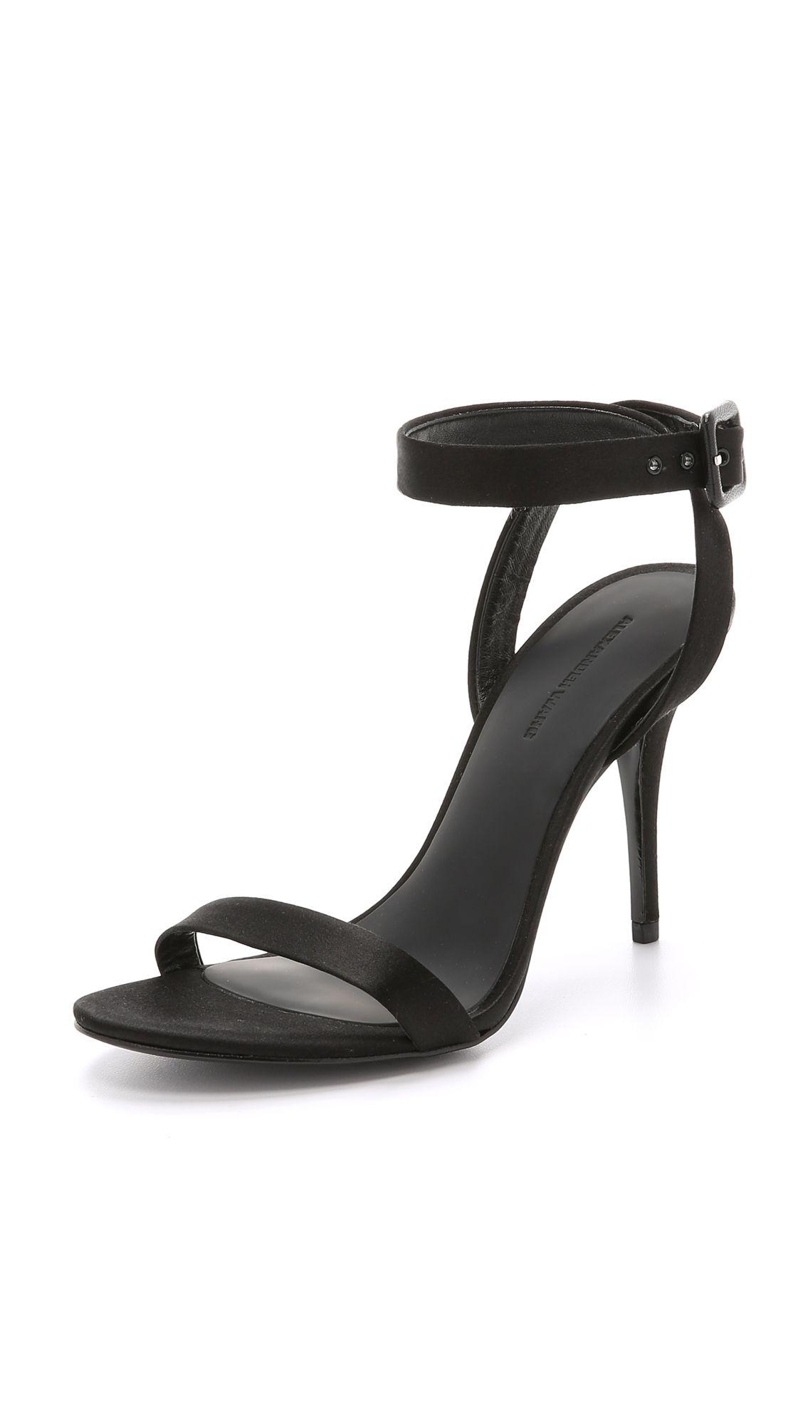 Alexander Wang Atalya High Heel Sandals - Black   SHOPBOP.COM saved by #ShoppingIS