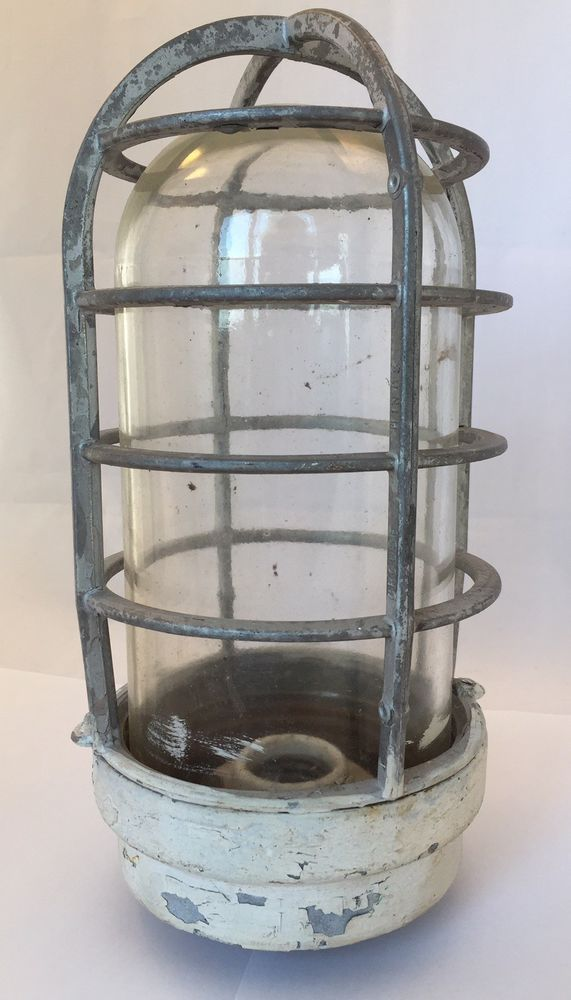 Antique Crouse Hinds Industrial Light Vintage Explosion Proof