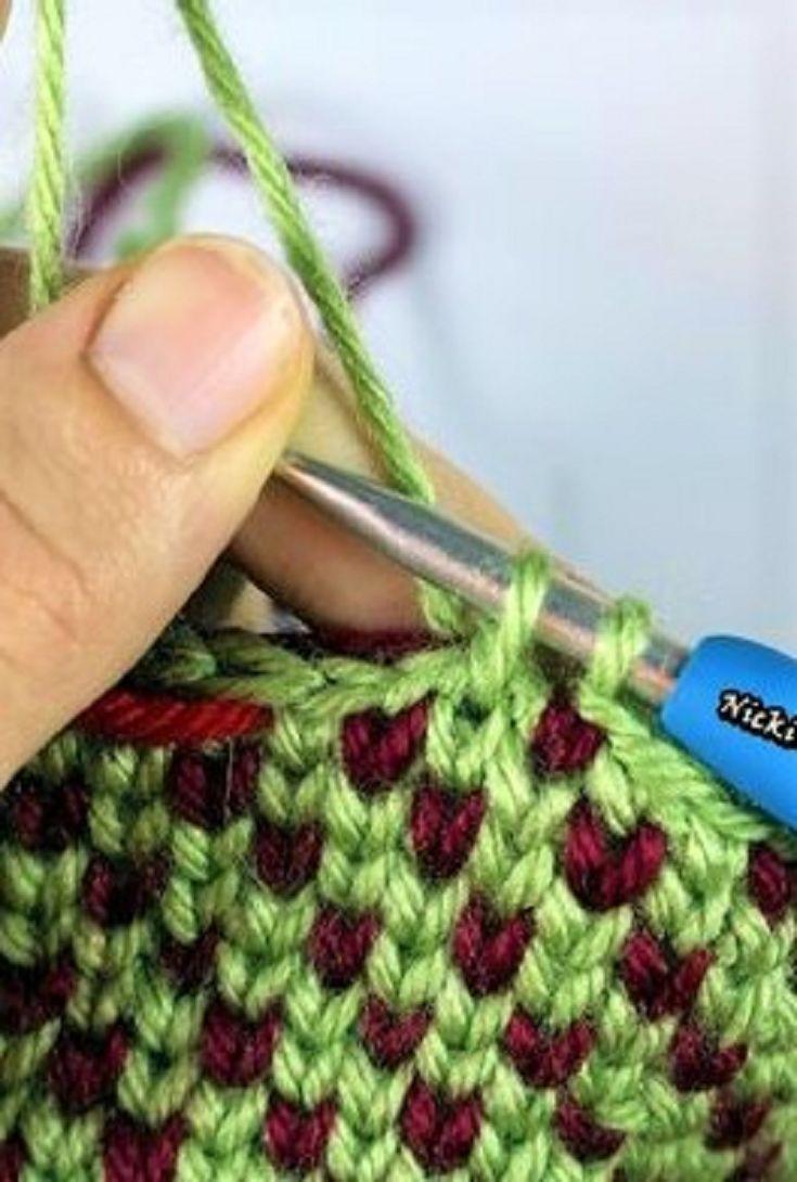 Learn A New Crochet Stitch Waistcoat Stitch Aka The Knit Stitch