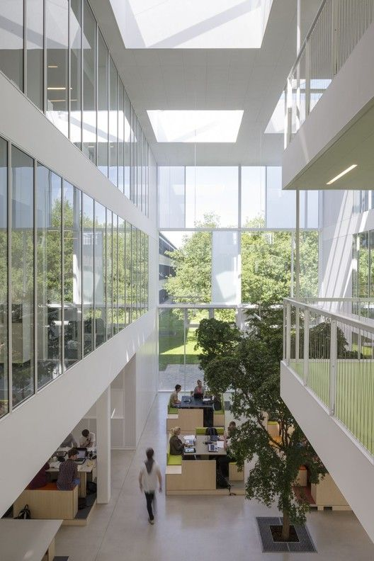 Study Room Glass: Gallery Of DTU Compute / Christensen & Co Architects