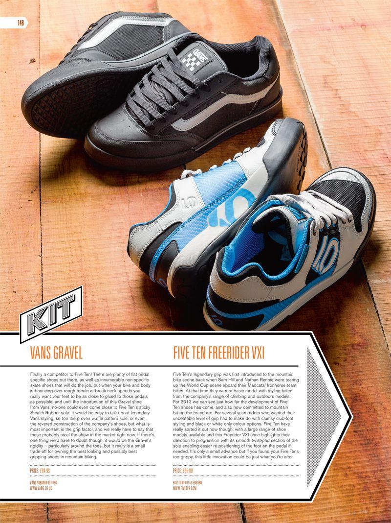 vans mtb gravel shoes