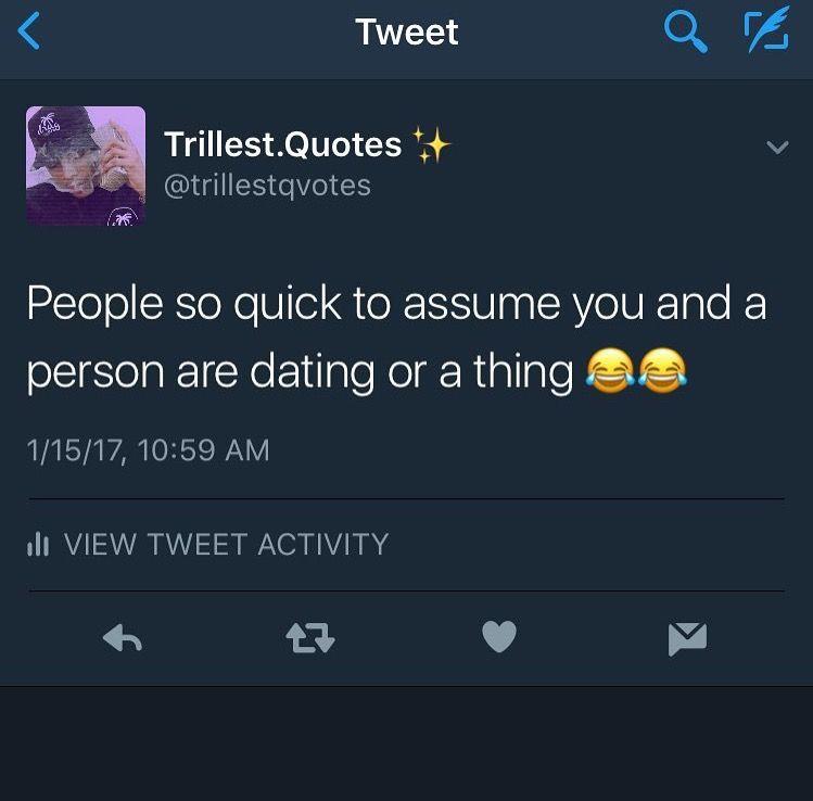 Twitter dating