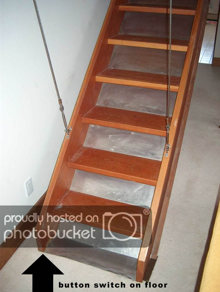 Retractable Attic Staircase Doityourself Com Community Forums Attic Staircase Staircase Retractable Stairs