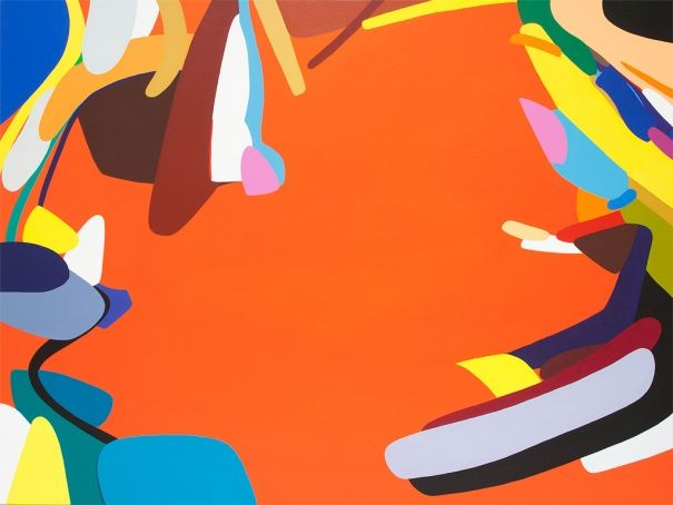 Easy-going, Kotaro Machiyama. Abstract. Acrylic Painting. £3,915.12. This artwork by Kotaro Machiyama is an acrylic on canvas piece that is ready to hang and there is no framing required.