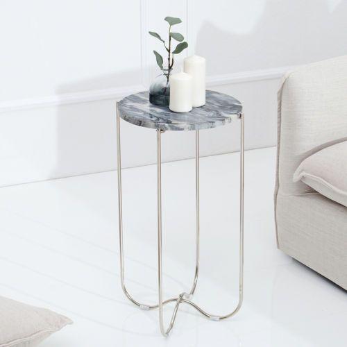 Details zu Hochwertiger Design Beistelltisch NOBLE Marmortisch - marmor wohnzimmer tische
