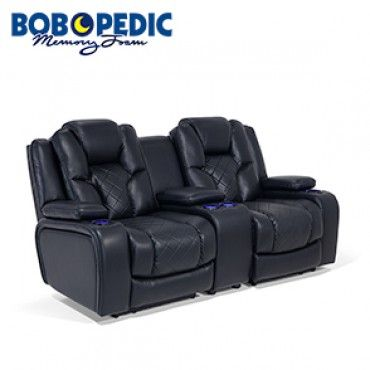 Gladiator Power Dual Reclining Sofa Reviews Best Furniture Leather Console Loveseat Basement Ideas