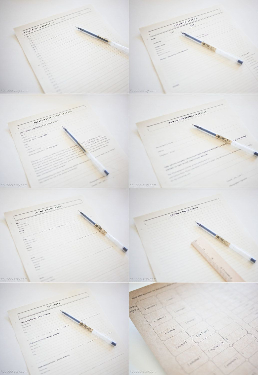 Printable Photographer Journal 32 Kinds Of Worksheets