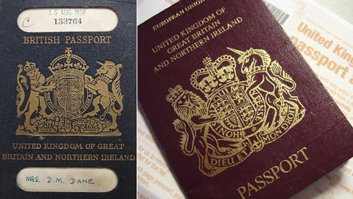 UK passports 'to be made in France after Brexit' British