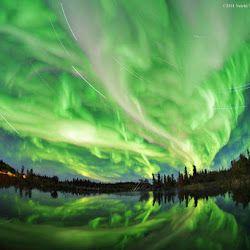 Foto Foto Pemandangan Alam Yang Spektakuler Dan Sangat Indah Pemandangan Cahaya Utara Fotografi Alam